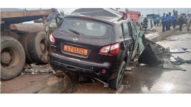Accident mortel de la circulation à Douala