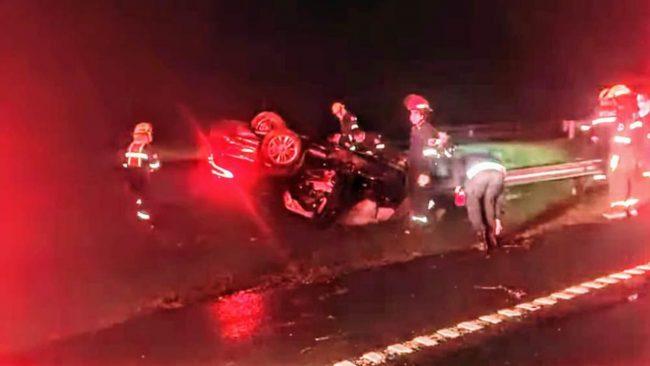 road accident, Mario Andrés Meoni