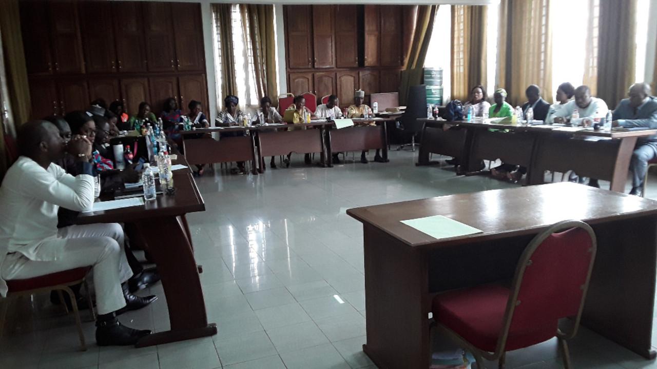 Participants à l'atelier de formation